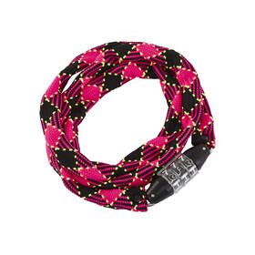 Cube RFR Junior Fietsslot roze/zwart